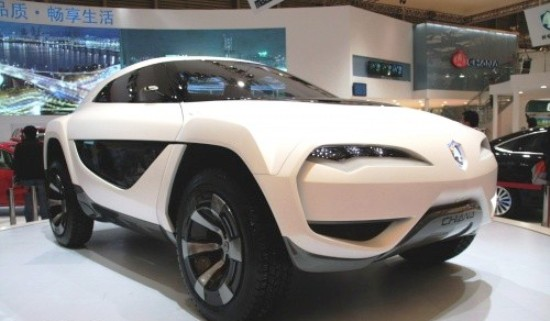 长安首款SUV于明年推出 源于E301概念车高清图片