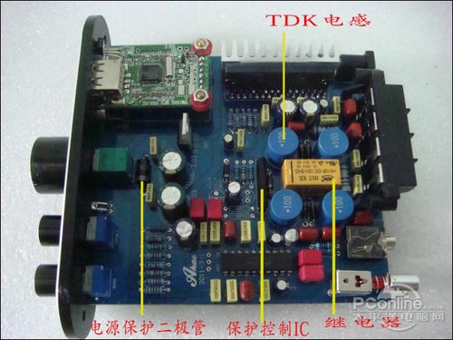 020-020IC,前级用LM1036N,TA2020-020的功放音质一流,比一般2图片
