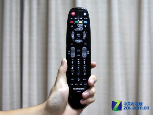 长虹3dtv40880ix液晶电视遥控器实拍