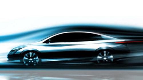 从英菲尼迪公开的草图中看可以出,新款EV的设计已较前一年的草图,没有那么抽象。从造型来看,英菲尼迪这款电动车采用三厢造型,拥有细长的大灯和大尺寸的轮毂。