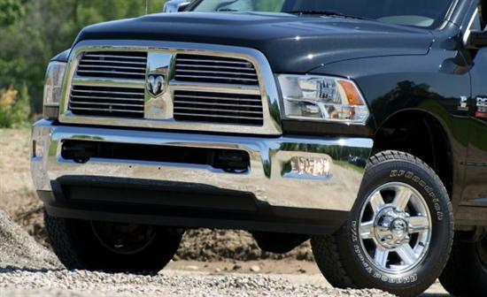 动力出色 试驾道奇ram 2500 4x4柴油版高清图片