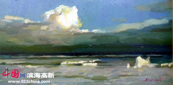 著名油画家张世范:平淡放在心上 激情放在心下