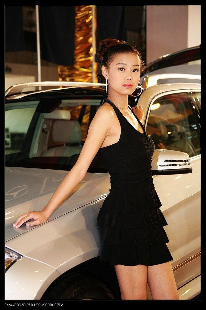第六届南昌国际车展美女车模