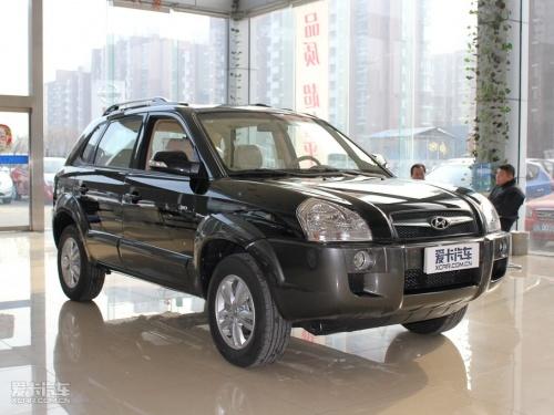 2010款现代途胜 售价-桂林车市 现代途胜现车在售 购车赠送1000元礼包高清图片