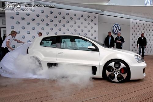 绝对的钢跑 高尔夫gti w12概念车