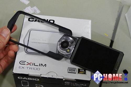 自拍神器MM必备 卡西欧TR100黑白到货-科技频道-和