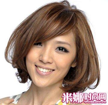 圆脸MM专属发型 4款圆脸发型潮味十足