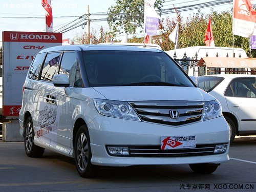 艾力绅是东风   本田   旗下首款mpv车型,定位于高端商务高清图片