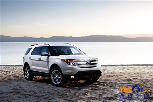 福特七座旗舰SUV探险者特惠5800元 有现车