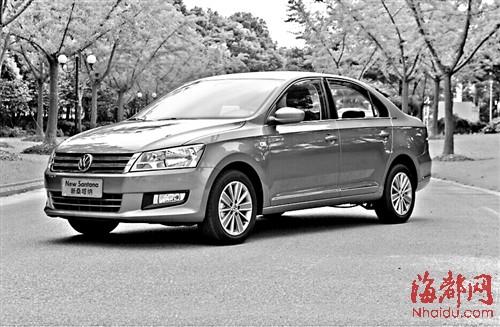 2015款上海大众新桑塔纳-新车巡礼