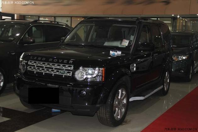 新款路虎发现4 美规版现车83万黑色高配高清图片