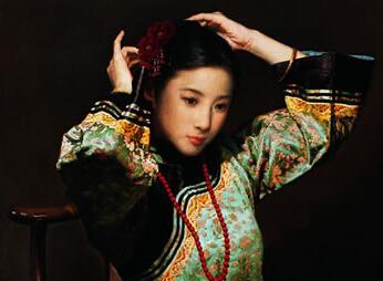 民国时期旗袍美女照
