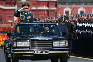 习近平出访俄罗斯参加胜利阅兵