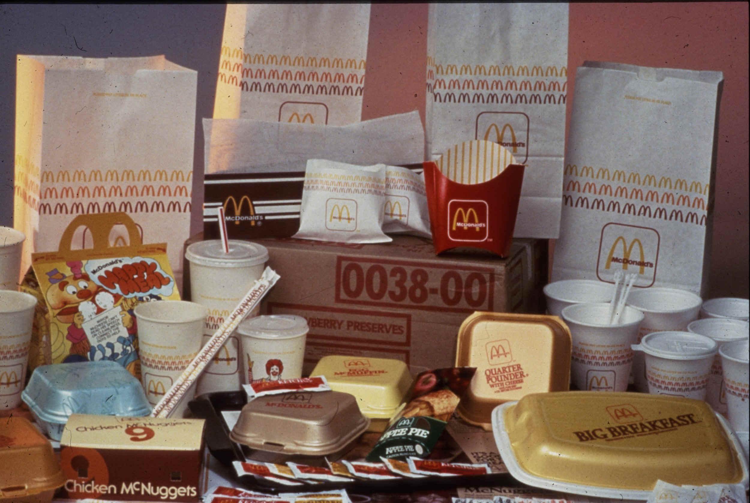 换新包装重塑品牌 麦当劳希望你觉得它时尚图片
