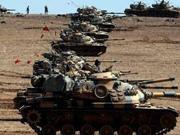 土耳其坦克�_�M�⒗���打��IS