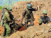 缅甸北部战事持续